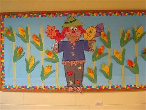 trinity preschool mp fall scarecrow bulletin board oak