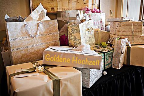 geschenke zur goldenen hochzeit top  kreative ideen