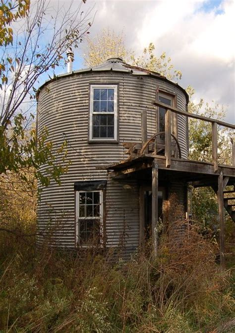 grain bin houses grain bin home barns cottages greenhouses and sheds pinterest