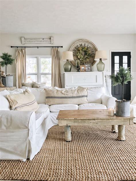 living room  beginning farmhouse love