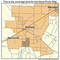 Aerial Photography Map of Salome, AZ Arizona