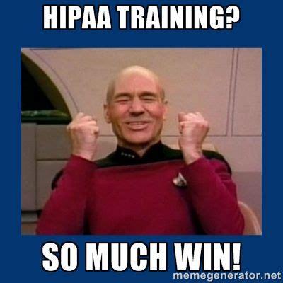 Training Meme - www hipaafortherapists com hipaa training so much win hipaa info for therapists pinterest