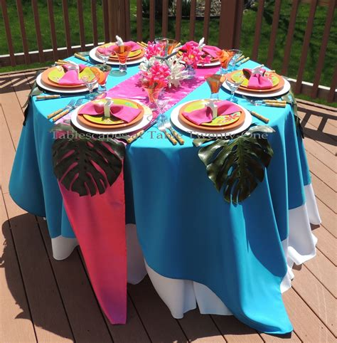 tropical table ls cheap tablescapes at table twenty one budget friendly tropical