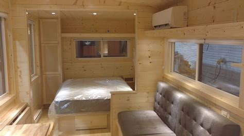 boho xl tiny house  private bedroom  open concept