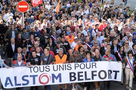 alstom si鑒e social belfort quot ville morte quot pour défendre les salariés d 39 alstom challenges fr