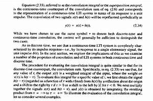 Signals And Systems Oppenheim Solutions Continuous Time Lti Systems The Convolution Integral