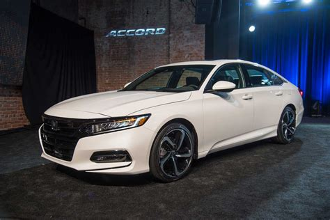 2018 Honda Accord Debuts With Turbo Engines, 10speed