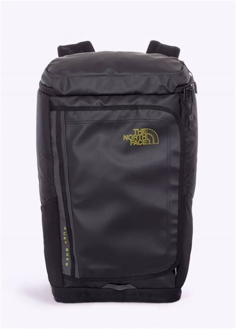 north face fuse box charged backpack black