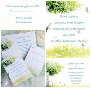 cheap rustic green tree and butterfly wedding invitations With country wedding invitations nz