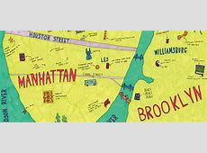 This Broad City Map of NYC Shows Where Abbi & Ilana Chill