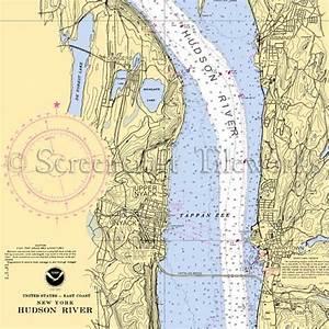 New York - Nyack Tappan Zee, Hudson River / Nautical Chart