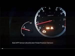 Honda Pilot Vsa Light Honda Pilot App Sensor Replacement Youtube