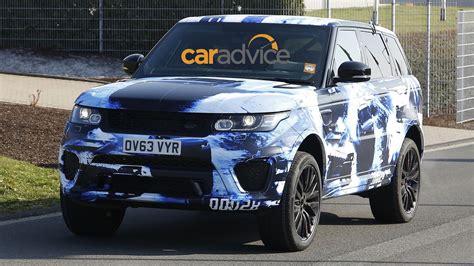 range rover sport   performance suv spied