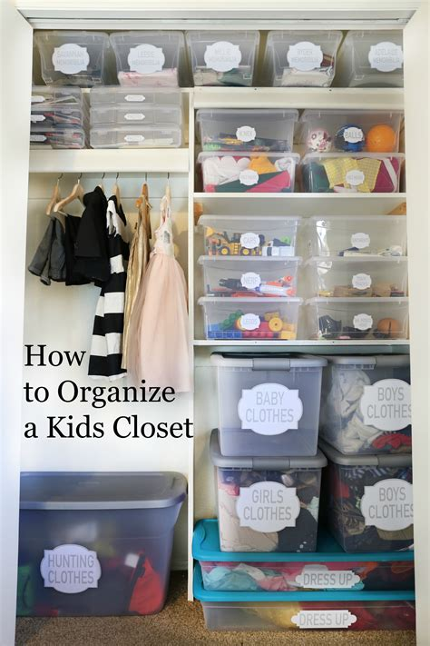 how to organize a closet clutter