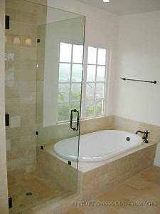 Shower, Next, To, Tub, Design