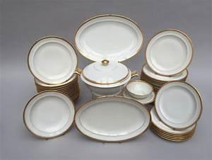 Service De Table Porcelaine : chastagnier cie limoges france service de table en porcelaine blanche ~ Teatrodelosmanantiales.com Idées de Décoration