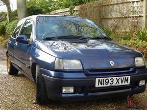 1995 Renault Clio Williams 3 Blue