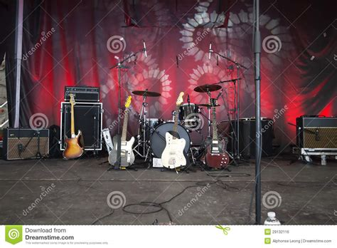 instruments  stage ready  rock royalty  stock