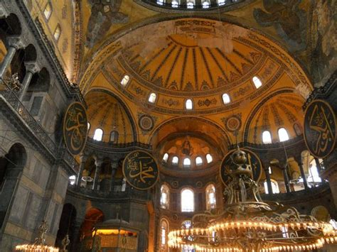 Santa Sofia Istanbul Interno Basilica Santa Sofia Interno Foto De Museu Hagia