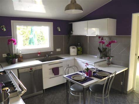 deco cuisine violet déco cuisine violet