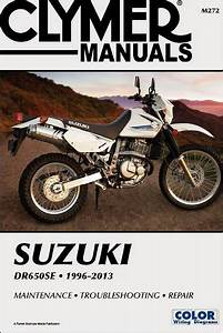 Suzuki Dr650se Repair Manual 1996-2013