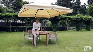 Ampelschirm Schneider Rhodos : schneider ampelschirm rhodos sonnenschrim gartenxxl youtube ~ Eleganceandgraceweddings.com Haus und Dekorationen