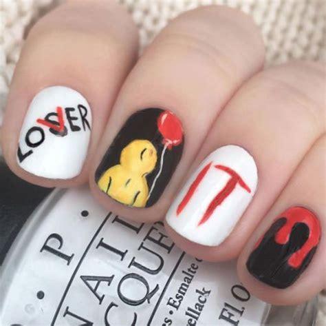 halloween spooky nails art designs ideas