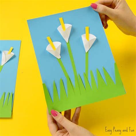 crepe paper calla paper craft flower craft ideas easy peasy