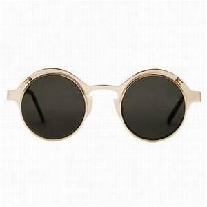 Lunette Soleil Ronde Homme : lunettes de soleil rondes avec pont en metal lunettes de ~ Nature-et-papiers.com Idées de Décoration