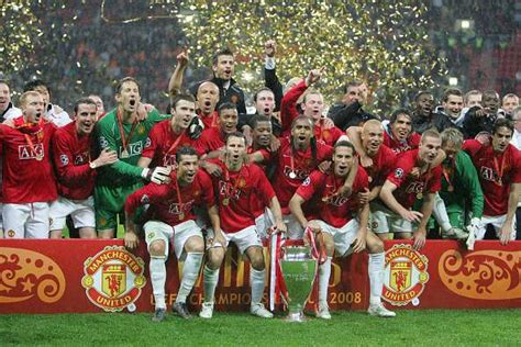 Manchester United Champions League Final 2008