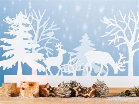 Weihnachtsdeko Fenster Weiß by Im Winterwald Deko