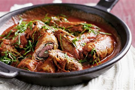 sauge cuisine recipes beef braciole beef rolls