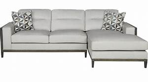 99999 adair park platinum grayish white 2 pc for Olympian platinum 2pc sectional sofa dimensions