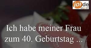 Ideen Zum 40 Geburtstag Mann : deine ideen zum 40 geburtstag deiner ehefrau ~ Avissmed.com Haus und Dekorationen