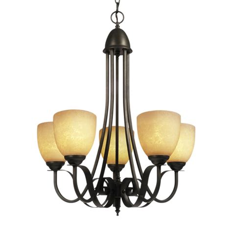 chandeliers at lowes galaxy lighting 815445orb sevilla 5 light chandelier