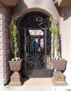 Entryway Gates - Artistic Iron Works - Ornamental Wrought