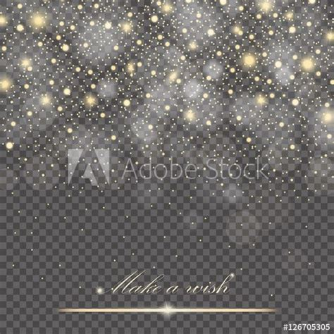 vector gold glitter particles background effect  luxury
