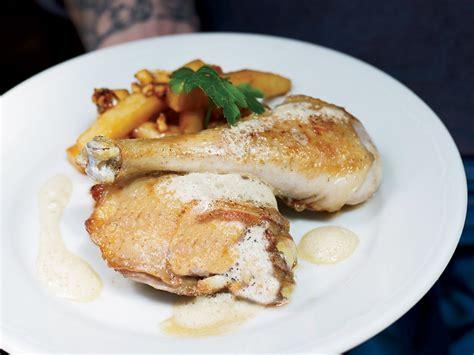 creme fraiche cuisine chicken with white wine and crème fraîche recipe ewen lemoigne jancou food wine