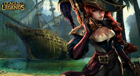 Miss Fortune Wallpaper (league Of Legends) By Mmendes On