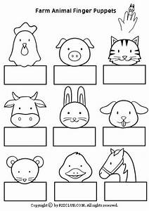 1000 images about farm crafts for kids on pinterest With paper finger puppets templates