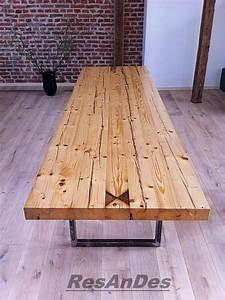 Tisch Aus Alten Balken : esstisch aus alten balken ~ Michelbontemps.com Haus und Dekorationen