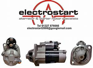 Sl1561 Yanmar Engines Starter Motor