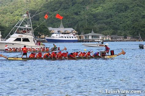Dragon Boat Racing Trinidad by Triniview Chinese Dragon Boat Race Festival