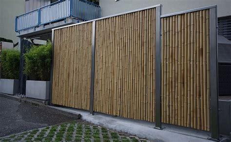 Sichtschutz Fuer Die Terrasse Aus Bambus Oder Aus Kunststoff by Bambus Fotogalerie Was Aus Bambus Gemacht Werden Kann