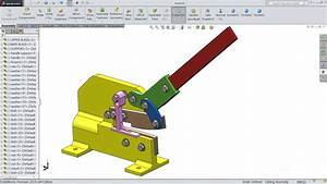 Solidworks Tutorial Manual Shearing Machine