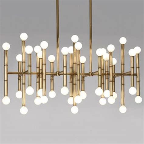 meurice rectangular chandelier by jonathan adler lighting
