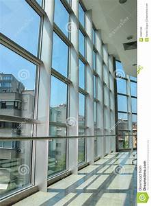 Grid Structure Windows With Outside View Royalty Free ...