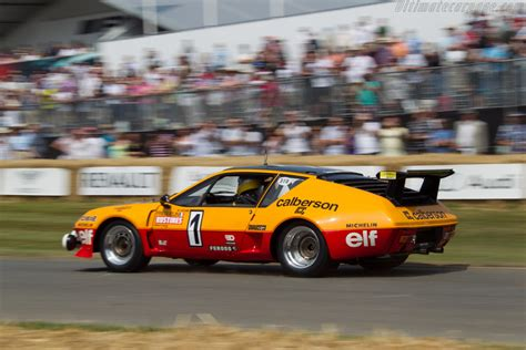 Alpine A310 - Entrant: Collection Renault - Driver: Jean ...