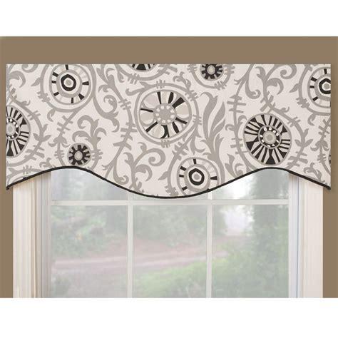 kitchen curtains valances patterns soho black modern window valance soho black 17 inches