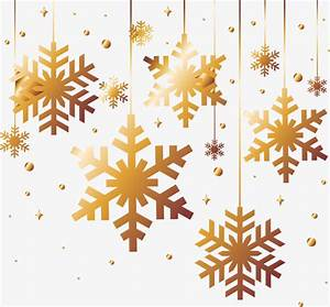 Golden snowflakes, Christmas, Golden, Snowflake PNG and ...
